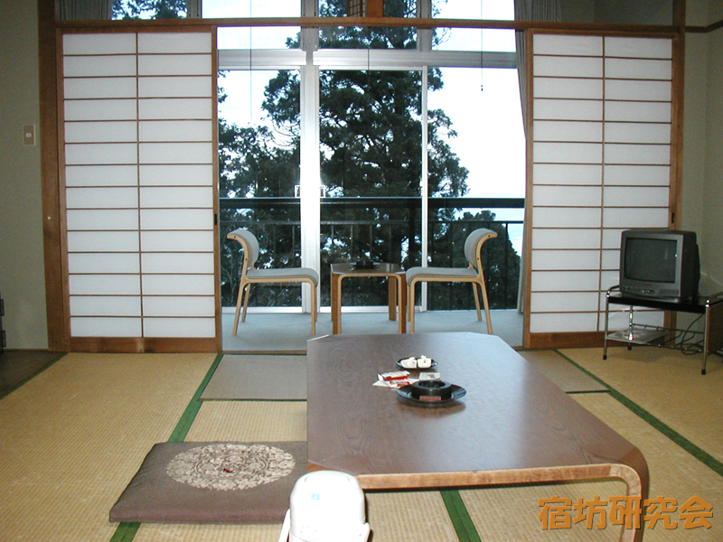 比叡山延暦寺会館の客室