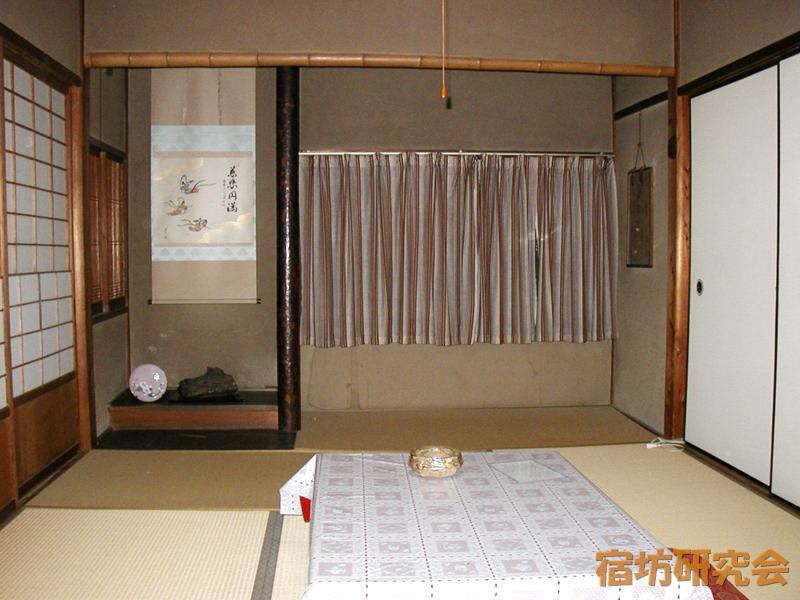 新薬師寺の客室