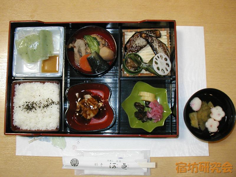 清澄寺研修会館の夕食