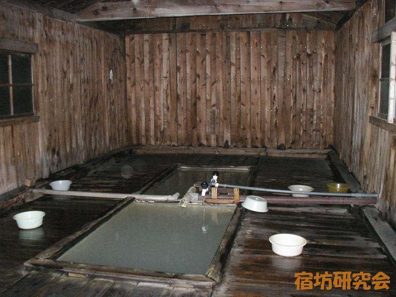 恐山宿坊の温泉