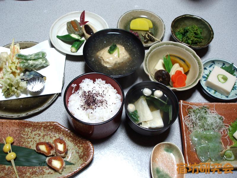 浄蓮華院の精進料理