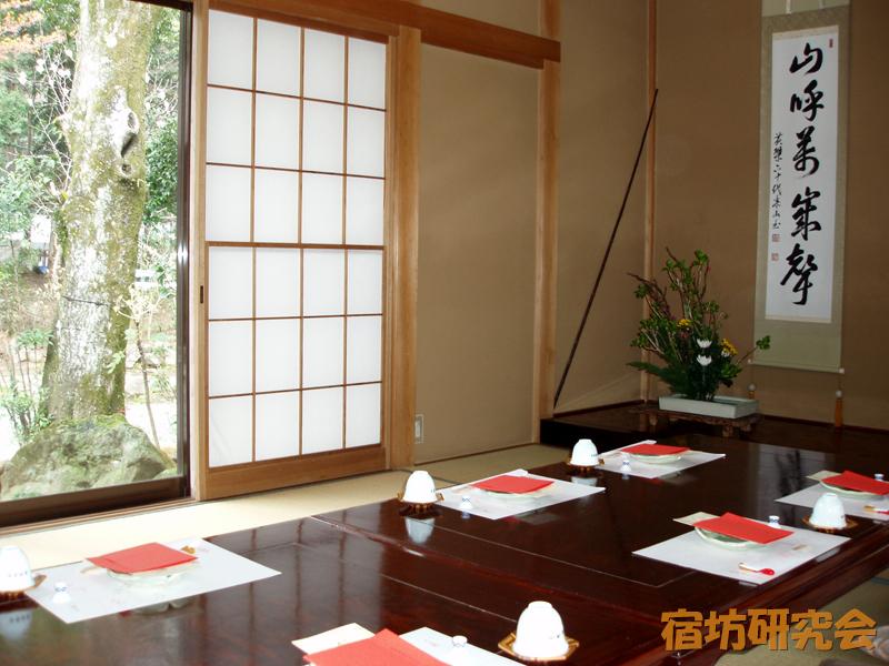 紹太寺の客室