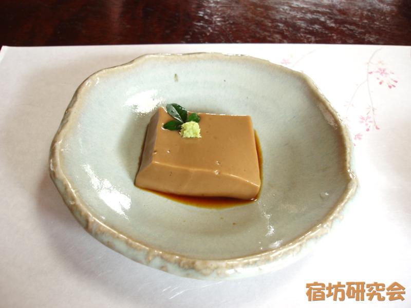 紹太寺の胡麻豆腐