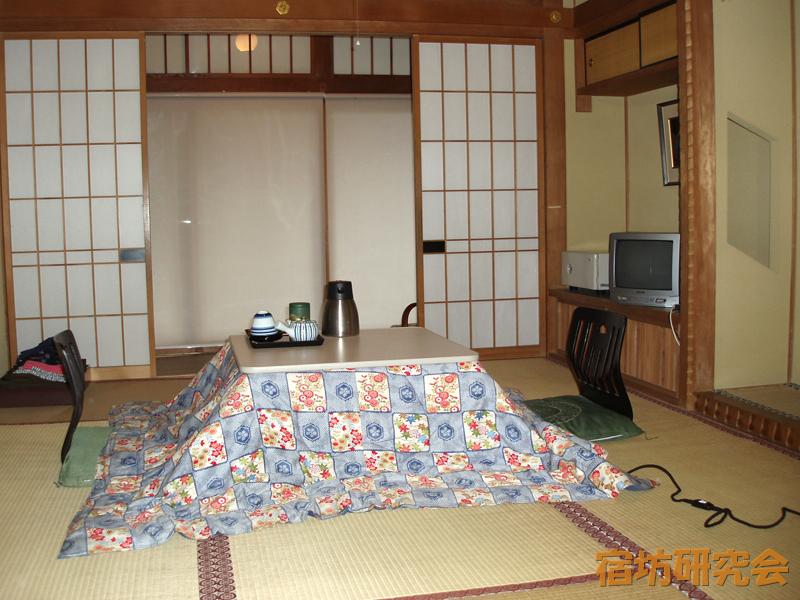 蓮華定院の客室