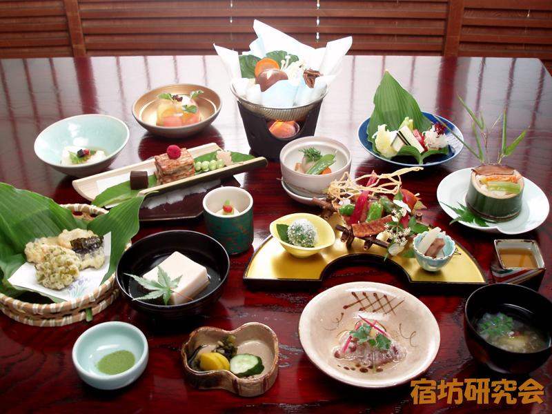 福智院の精進料理