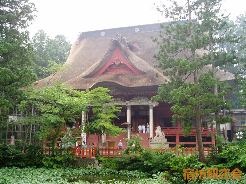 出羽三山神社(山形県鶴岡市)