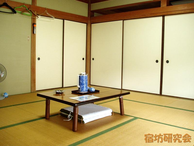 熊野本宮大社瑞鳳殿の客室