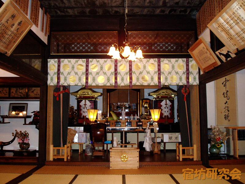 宿坊極意の神殿