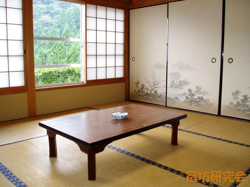 焼山寺の客室