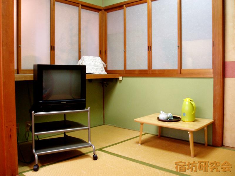 大日寺の客室