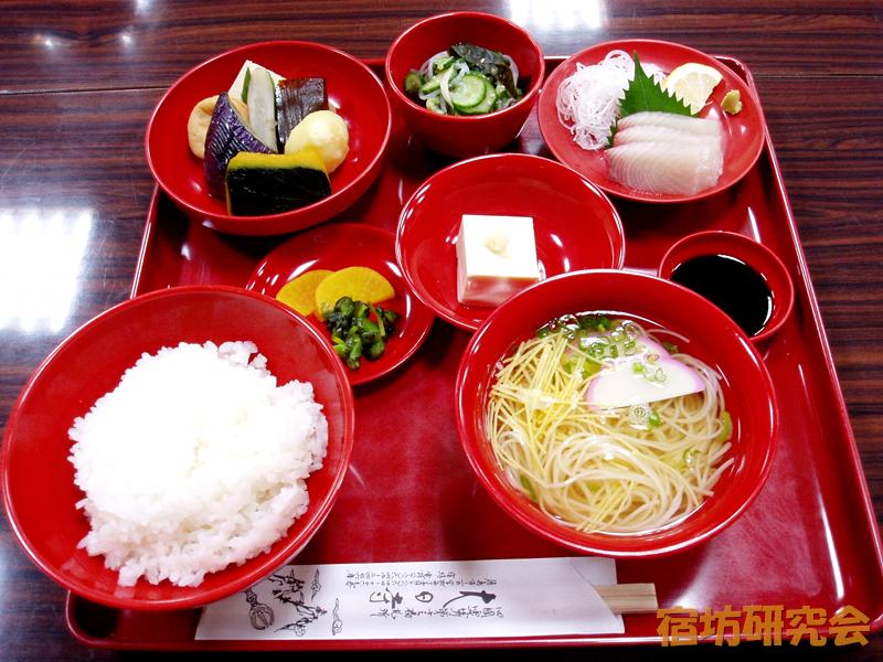 大日寺の夕食