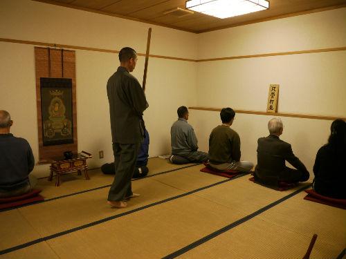長福寺の坐禅会