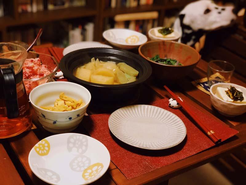 大楽庵の食事