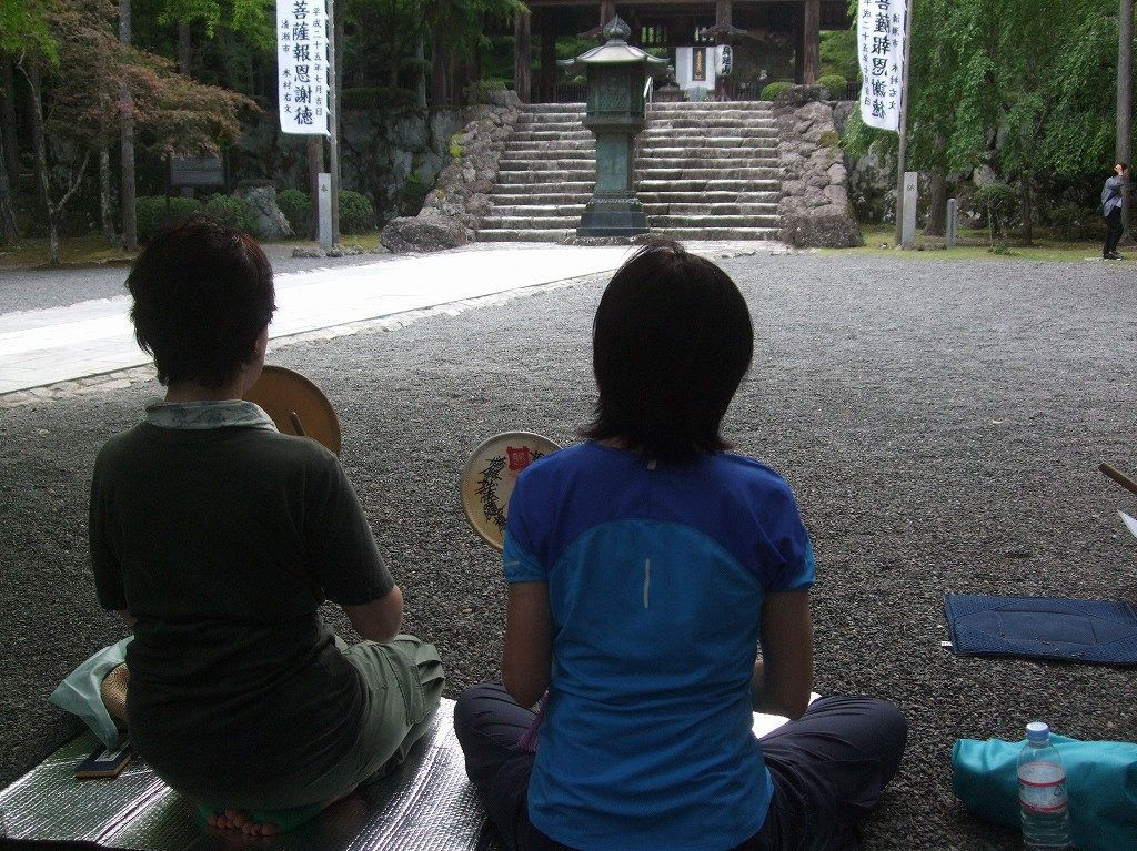 久遠道場の寺修行体験