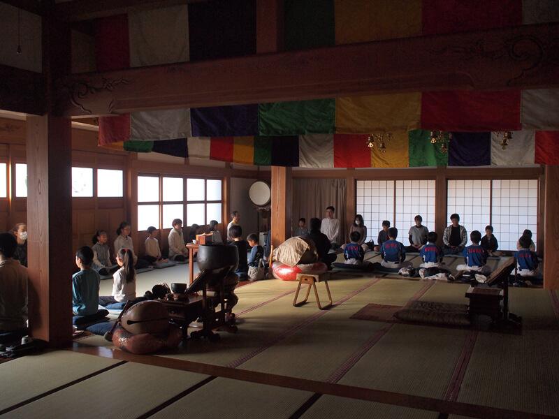 東光寺の坐禅会