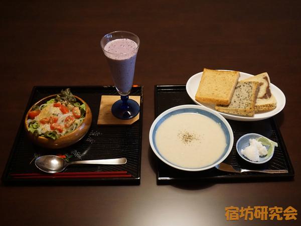 了廣寺の朝食
