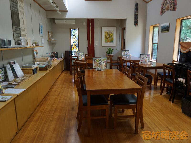 葛木御歳神社のサロン&カフェ みとしの森内