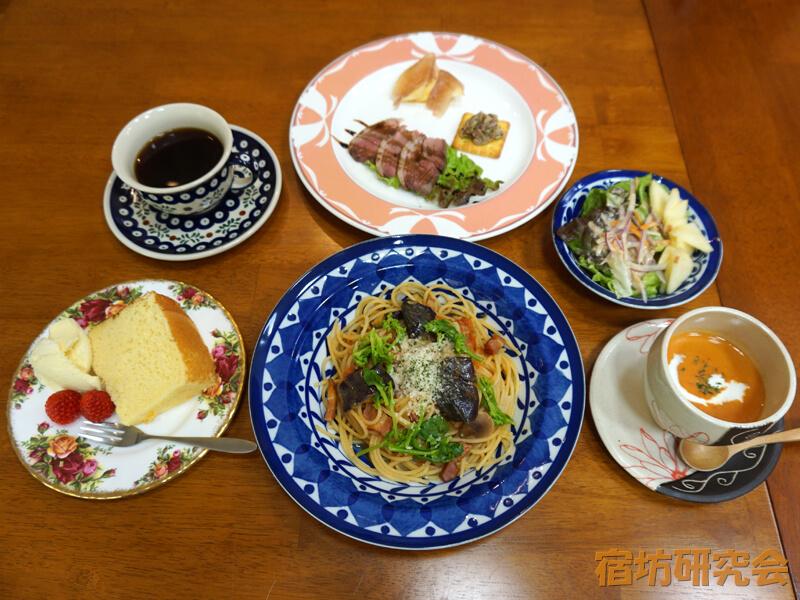 葛木御歳神社のサロン&カフェ みとしの森ランチセット