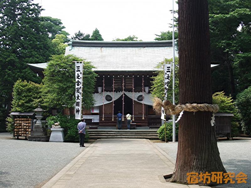 比々多神社(神奈川県伊勢原市)