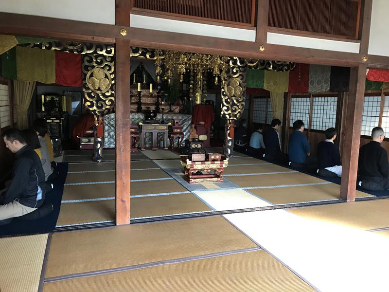 安用寺の坐禅会