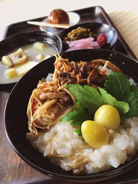 正壽寺の季節のお粥