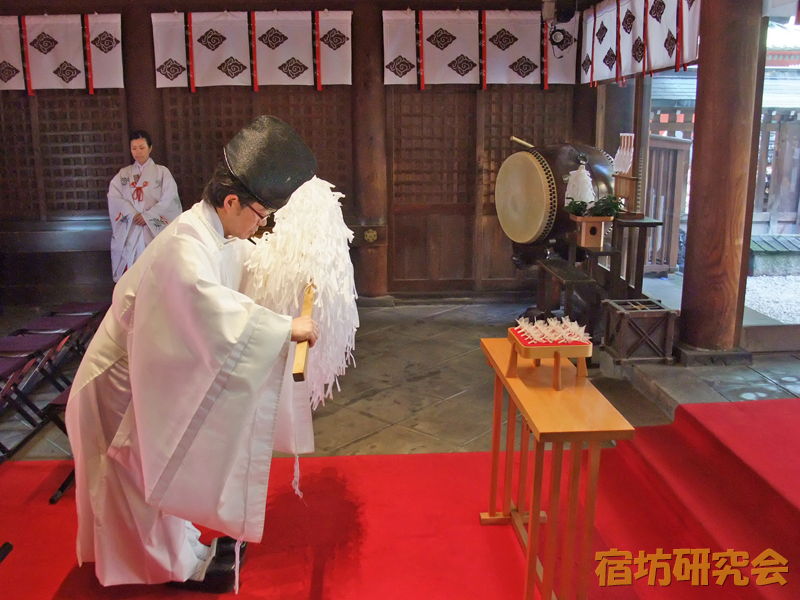 川越氷川神社『縁結び玉』のご祈祷