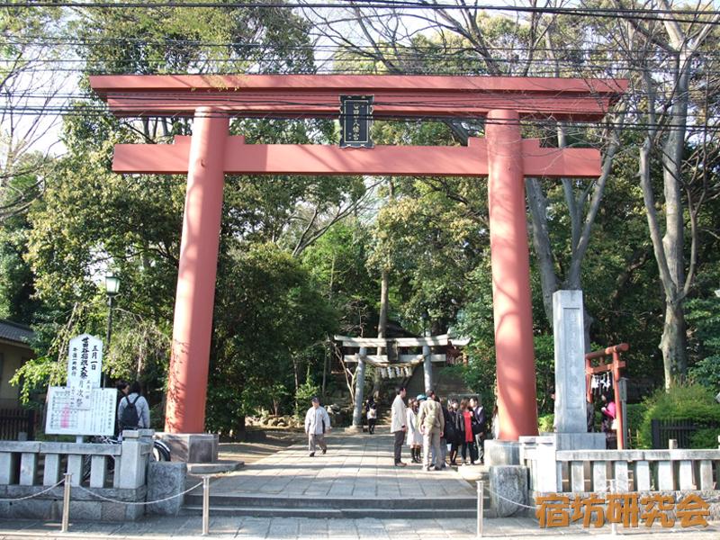 世田谷八幡宮(東京都 宮の坂駅)