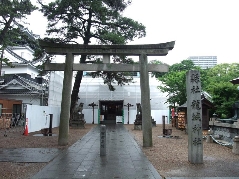 龍城神社(愛知県 東岡崎駅)