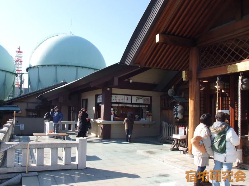 石浜神社(東京都 南千住駅)