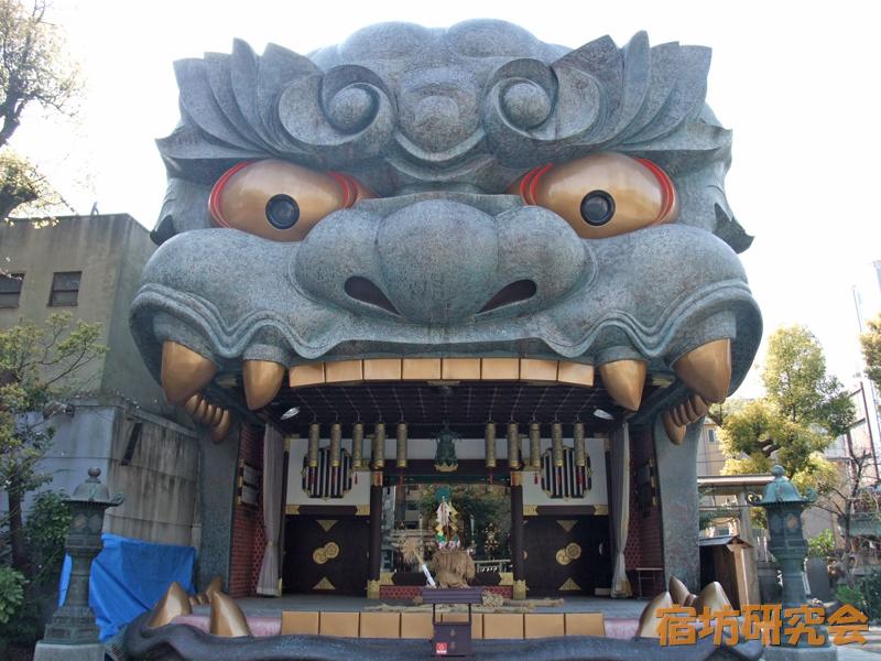難波八阪神社『獅子殿』
