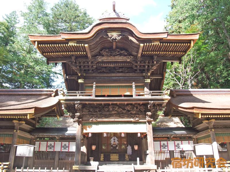 諏訪大社下社春宮(長野県 下諏訪駅)