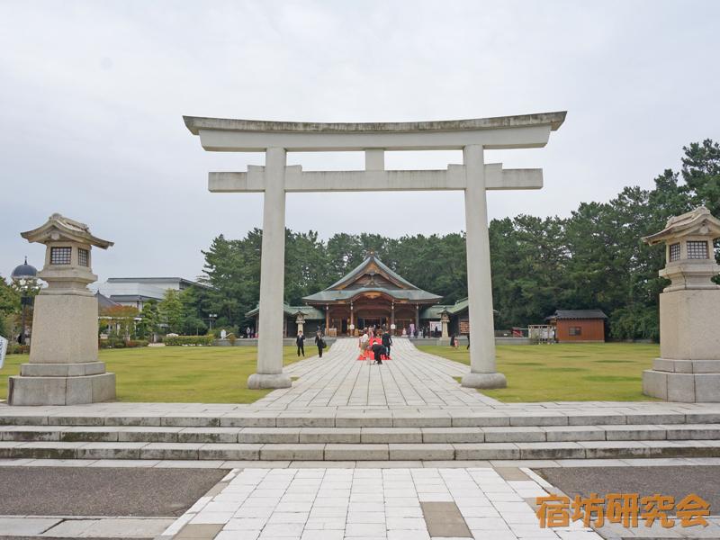 新潟縣護國神社(新潟県新潟市)