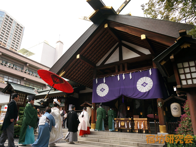 東京大神宮の神前結婚式
