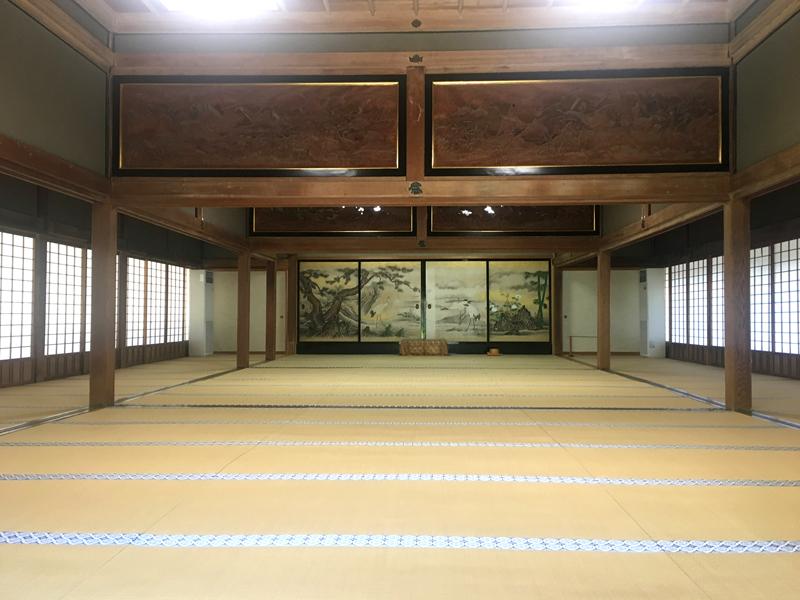 身延山久遠寺の旧書院