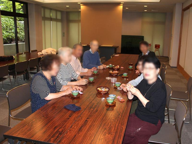宝泉寺の茶話会