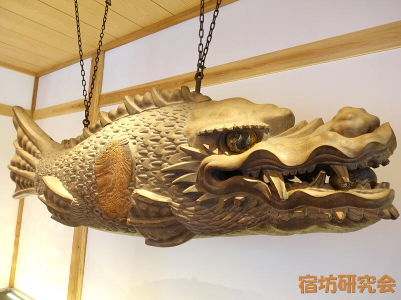永平寺親禅の宿柏樹関のほう(魚鼓)