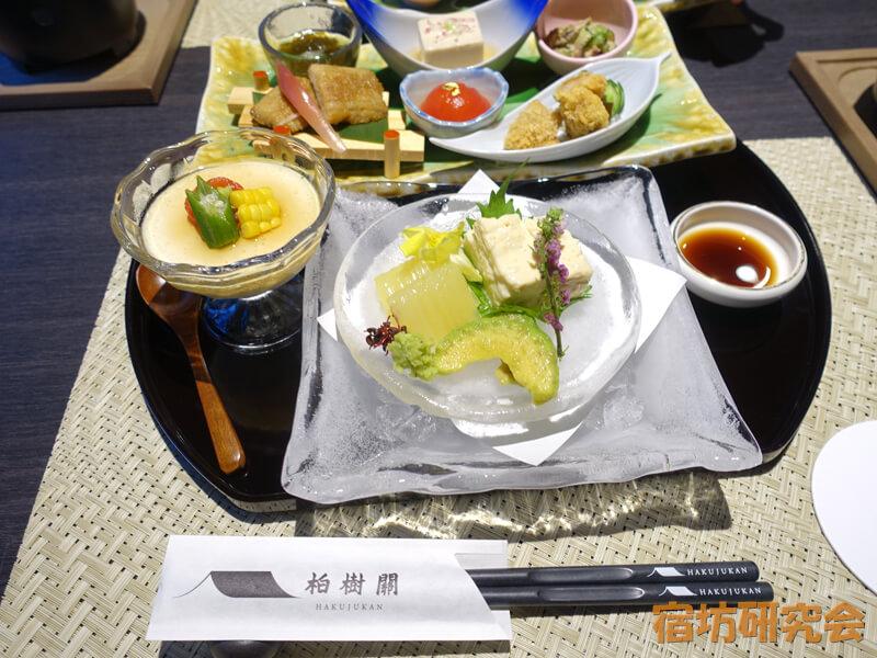 永平寺親禅の宿柏樹関の精進料理