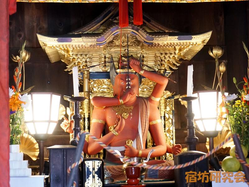 放光寺の愛染明王