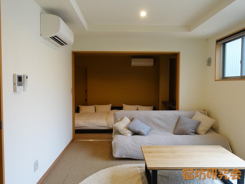 正伝寺の宿坊一階客室