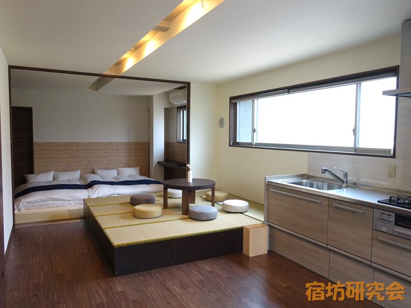 正伝寺の宿坊二階客室