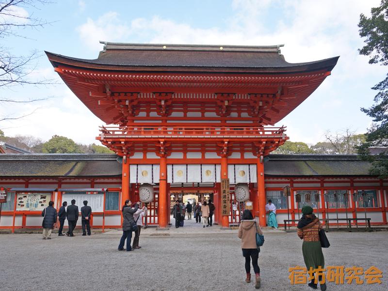 下鴨神社の門
