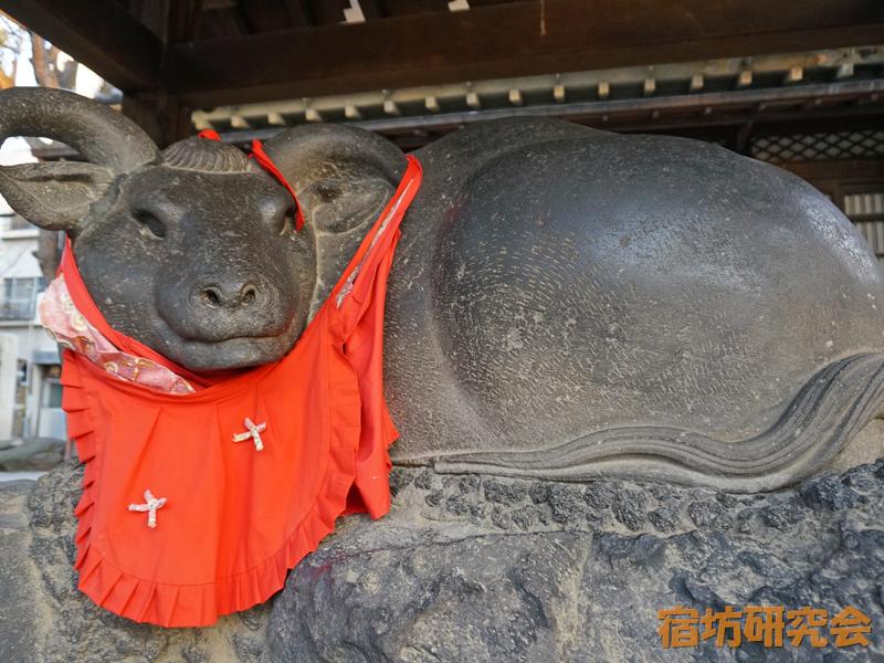 牛島神社の撫牛