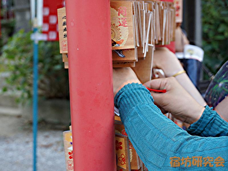 川越八幡宮の絵馬