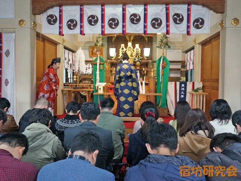 川越八幡宮の良縁祈願祭