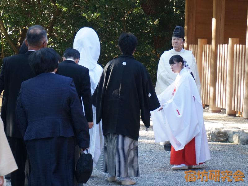 熱田神宮の神前結婚式