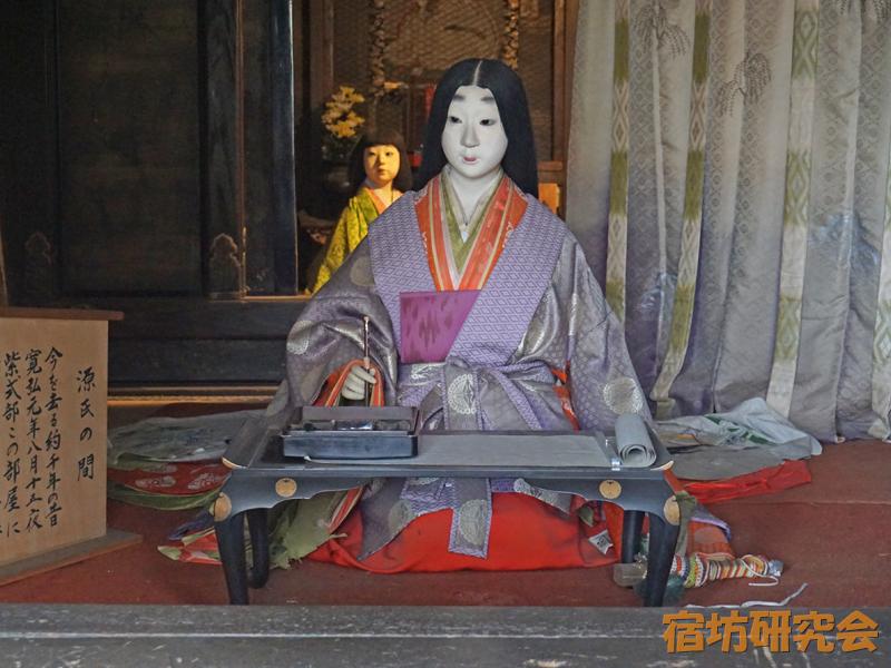石山寺の紫式部