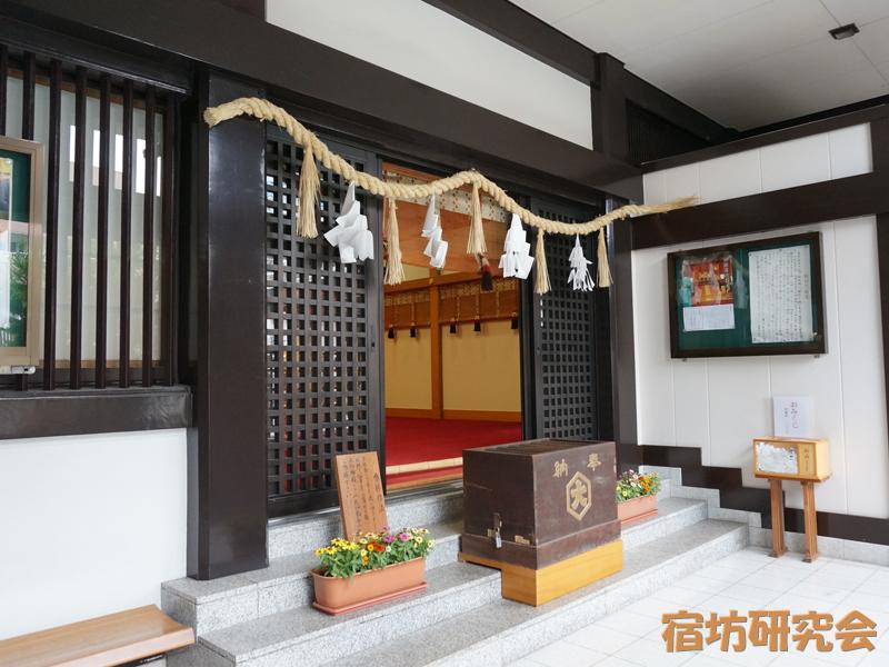 出雲大社東京分祠の拝殿