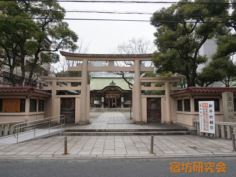 坐摩神社(大阪府 本町駅)