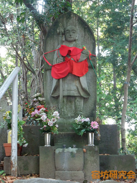 高尾山薬王院の弘法大師像
