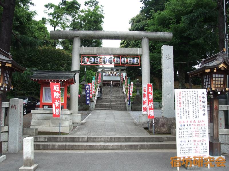 沼袋氷川神社(東京都 沼袋駅)